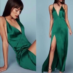Reformation Silk Dress